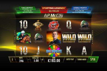 Ap McCoy: sporting legends slot gratis