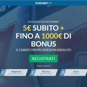 Eurobet casino online recensione